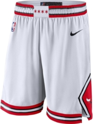 Nike Chicago Bulls 2019 20 Icon Edition White Shorts