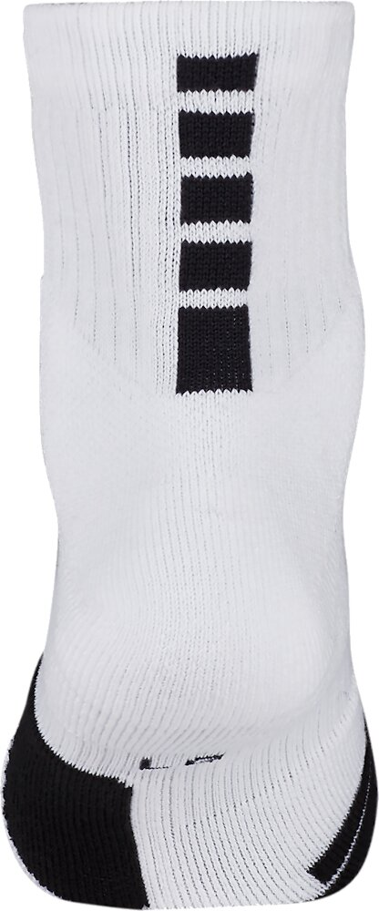Nike Elite Mid Whtie Basketball Socks