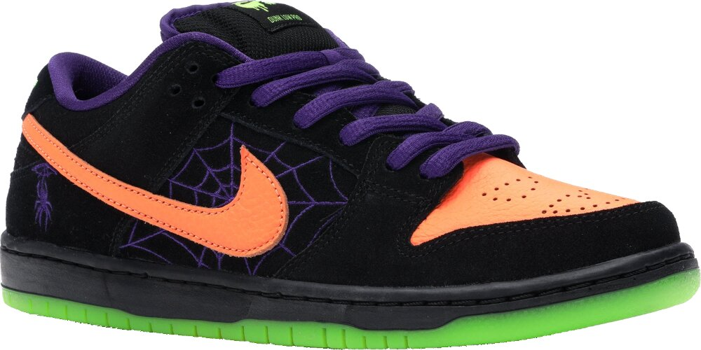 Nike Sb Dunk Low Night Of Mischief Halloween Sneakers
