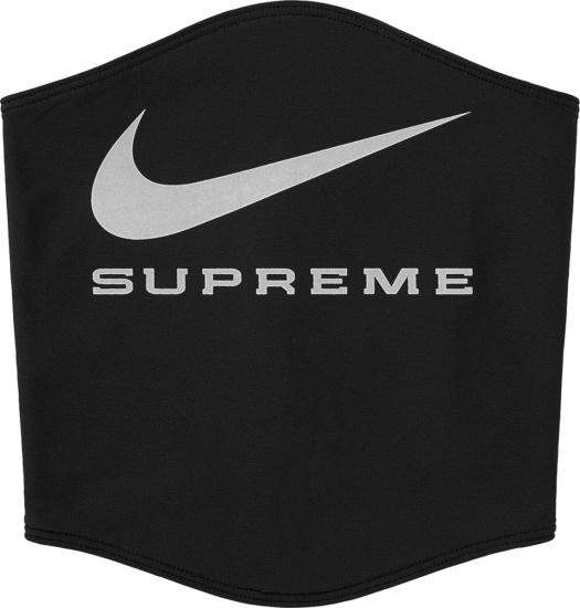 Nike X Supreme Black Neck Warmer