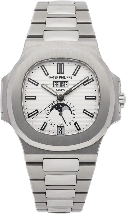 Patek Philippe Complications Nautilus Annual Calendar Moon Phases 57261a 010