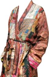 Paisley Patchwork Robe