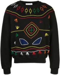 Prabal Gurung Thread Embroidered Sweatshirt Worn By Swae Lee