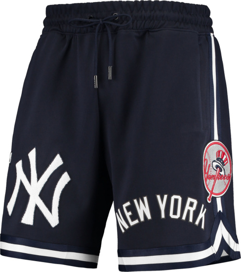 Pro Standard Navy Yankees Shorts