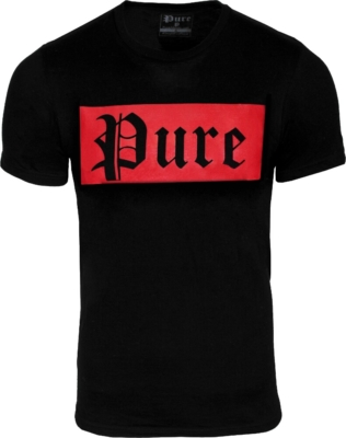 Pure Atlanta Logo Print T Shirt