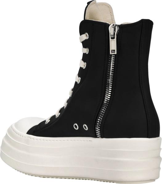 Rick Owens Drkshdw Leather Double Bumper Sneakers