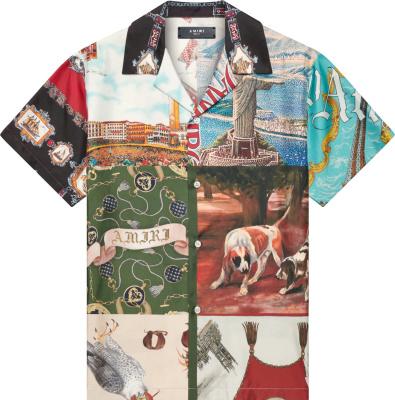 Souvenir Patchwork Shirt