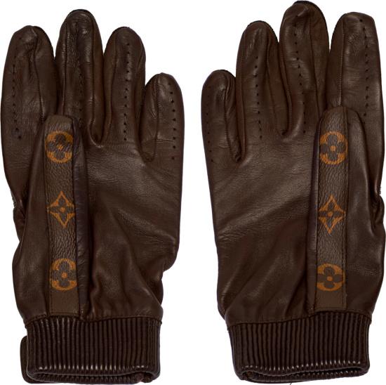 Supreme X Louis Vuitton Baseball Gloves Brown