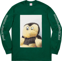 Supreme x Mike Kelley Green 'Ahh…Youth!' Long Sleeve T-Shirt