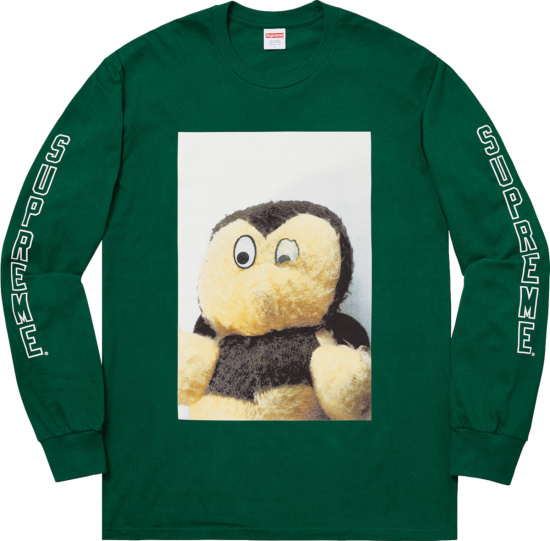 Supreme X Mike Kelley Ahh Youth Long Sleeve T Shirt
