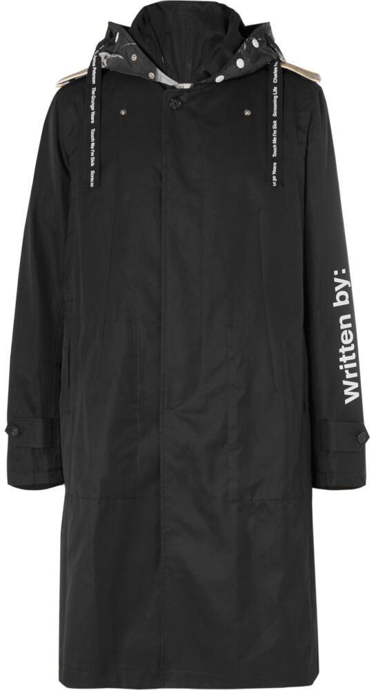 Takahiromiyashita Thesoloist Black Tranch Coat