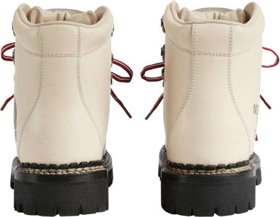 The North Face X Gucci Ivory Ankle Boot