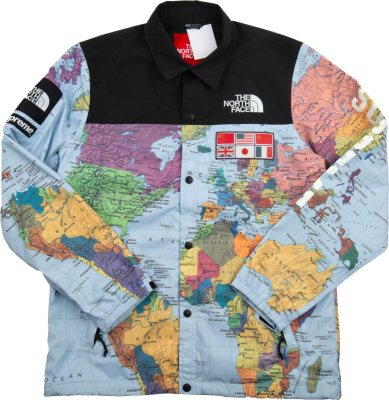 The North Face X Supreme Atlas Print Coaches Jacket