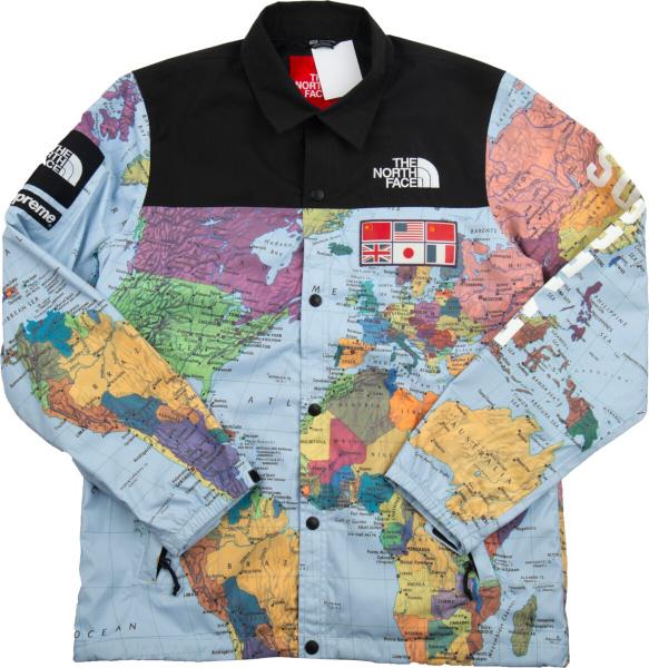 The North Face X Supreme Atlas Print Coaches Jacket