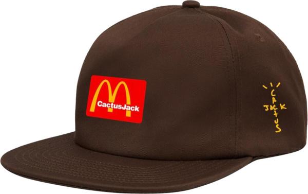Travis Scott X Mcdonalds Brown Cj Arches Hat
