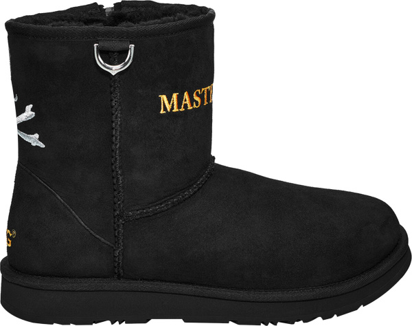 Ugg Mastermind Black Embroidered Boots