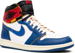 Union X Air Jordan 1 Retro High Storm Blue Worn By Chris Brown