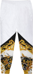 White Barocco 'Acanthus' Trackpants