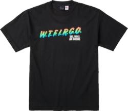Wtfirgo Black Print T Shirt