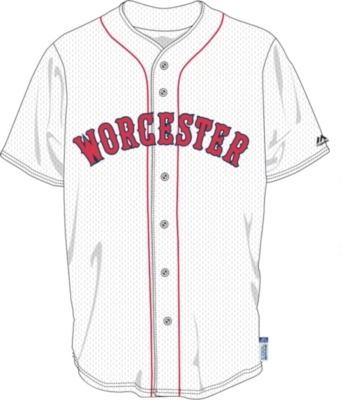 Worcester Boston Red Sox Jersey