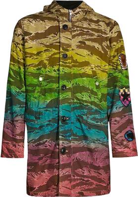 A Boogie Instagram Amiri Tiger Rainbow Coat
