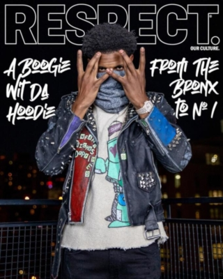 A Boogie On The Cover Of Respect Magazine In Jj Grant And Amiri