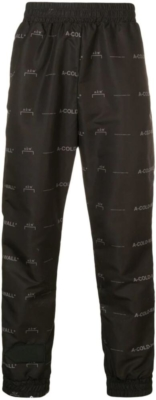 A Cold Wall Allover Logo Print Track Pants Worn By Quavo
