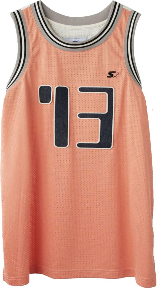 Acne X Starter Orange Basketball Jersey
