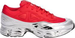 Adias X Raf Simons Red Metallic Ozweego Sneakers