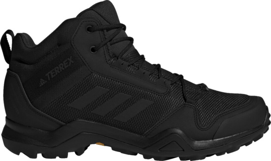 Adidas Black Terrex Ax3 Mid Gtx Hiking Boots
