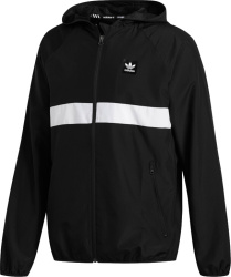 Adidas Black Blackbird Windbreaker Jacket