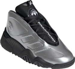 Adidas By Alexander Wang Silver Sneakers