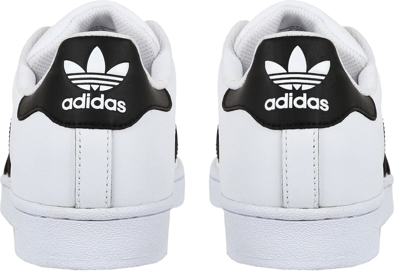 'Superstar Foundation' White Sneakers