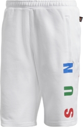 Adidas Pharrell Williams Human Race White Shorts