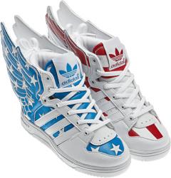 Adidas X Jeremy Scott Wings 2 Usa Flag Stars And Stripes