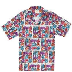 Aime Leon Dore Allover Crayon Print Shirt