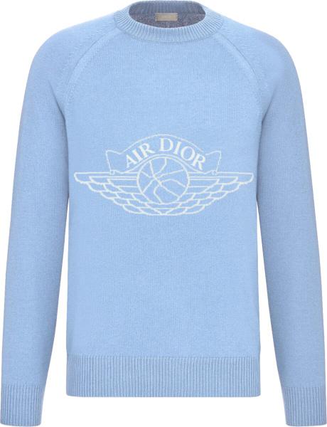 Air Dior Light Blue Sweater