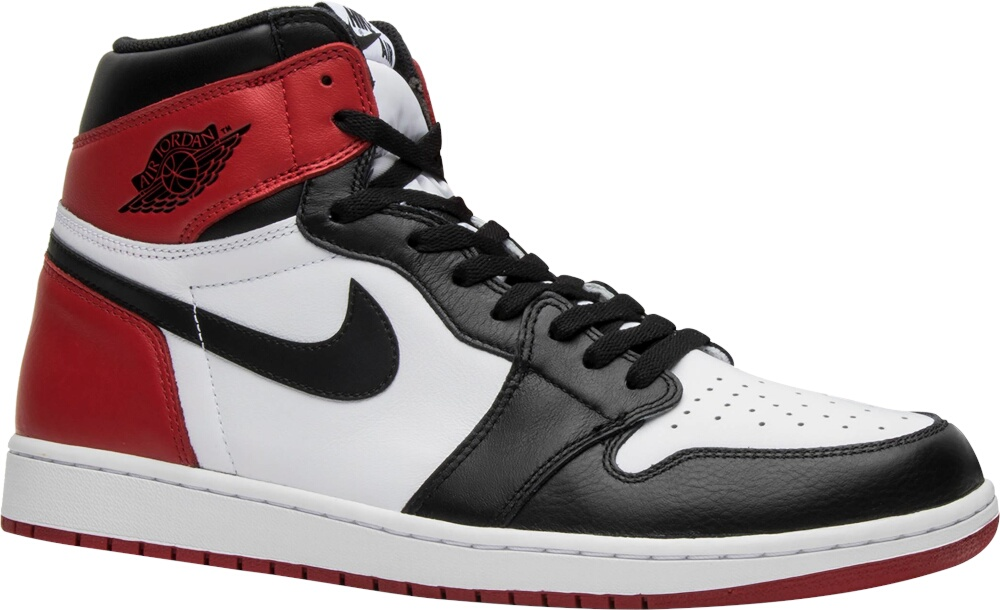 Air Jordan 1 Retro Og High 'black Toe'