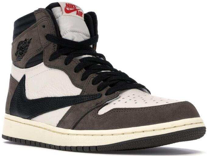 Air Jordan 1 X Travis Scott Cactus Jack Sneakers