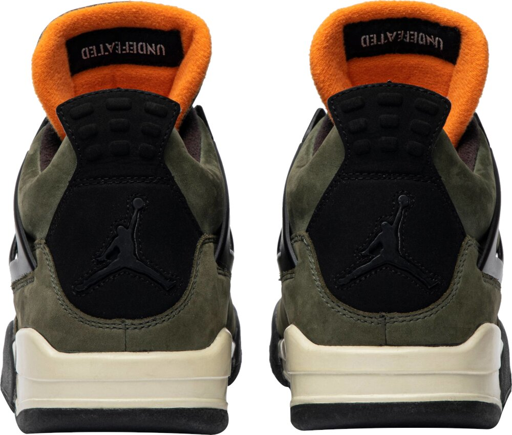 Air Jordan 4 Olive Green Sneakers