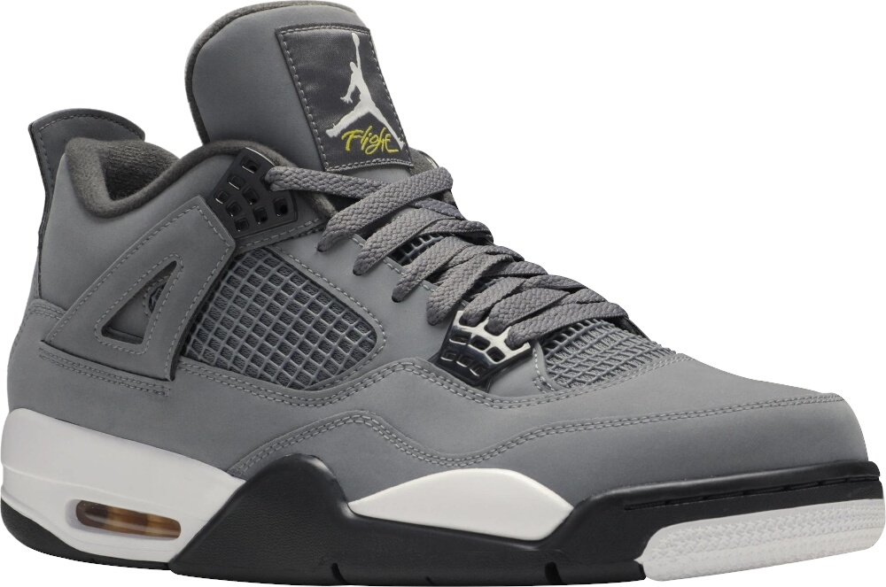 Air Jordan 4 Retro Grey Sneakers