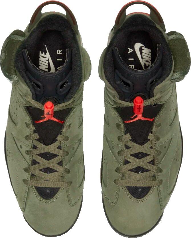 Air Jordan 6 'travis Scott' Cactus Jack Sneakers