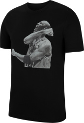 Air Jordan Black And White Photo Print T Shirt