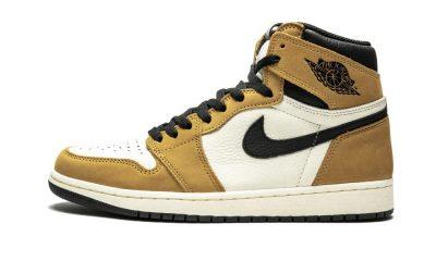 Air Jordan Brown Black White Sneakers Worn By Travis Scott