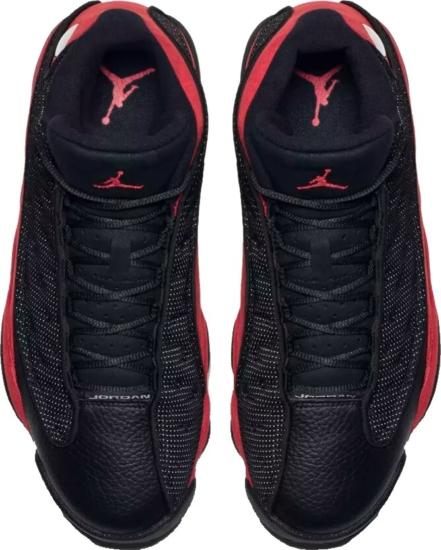 Air Jordan Retro 13 Bred Sneakers