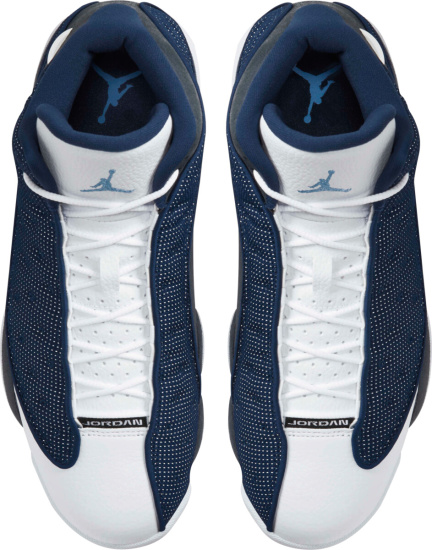 Air Jordan Retro 13 Navy Grey White