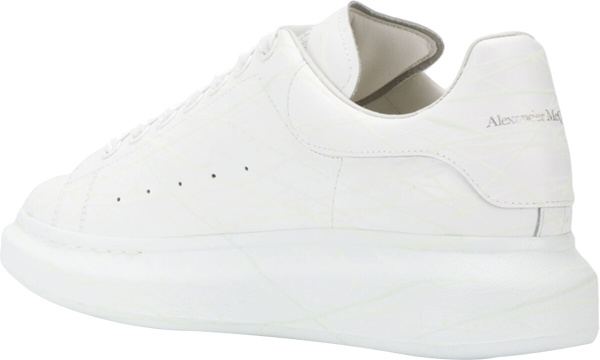 Alexander Mcqueen All White Sneakers