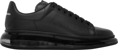 Alexander Mcqueen Black Clear Chunky Sneakers
