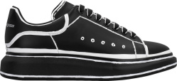 Alexander Mcqueen Black Outlined Sneakers