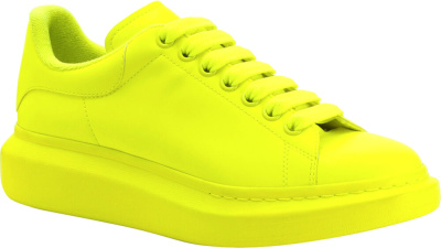 Alexander Mcqueen Neon Yellow Oversized Sneakers